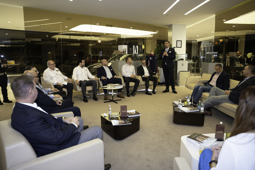 Cars and Cigars Club Joins TLN Qatar